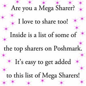 List of Top Sharers - Mega Sharers!!!